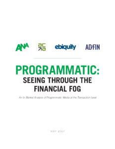 Programmatic: Seeing Through The Financial Fog