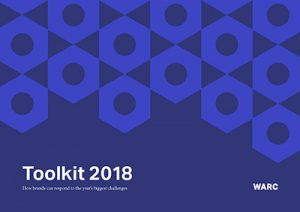 WARC Toolkit 2018 cover - how brands can respond to the year's biggest challenges